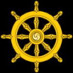 180px-Dharma_Wheel_svg