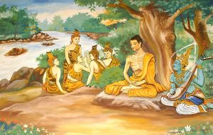 800px-Ascetic_Bodhisatta_Gotama_with_the_Group_of_Five